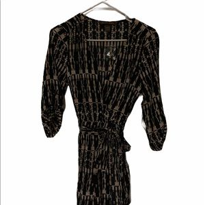 Charlie Jade romper size extra small Black and Tan
